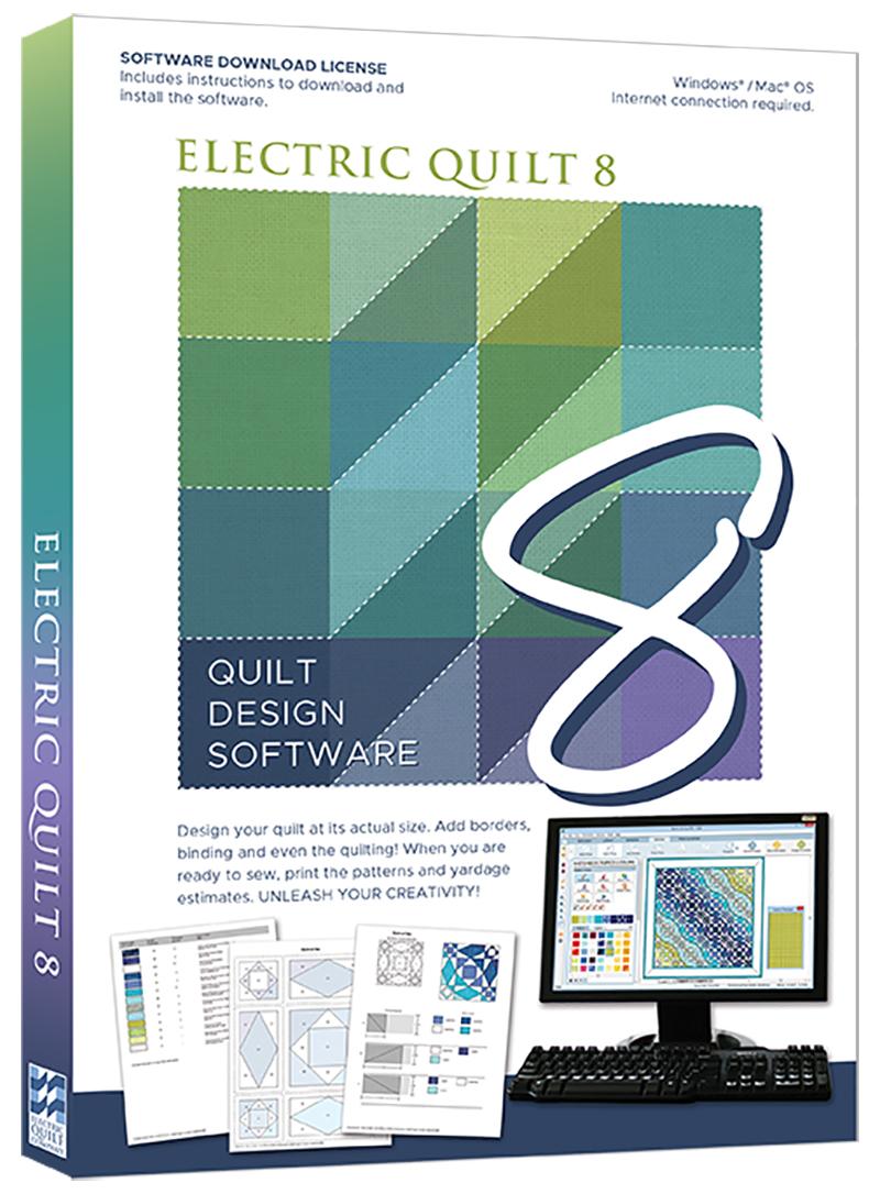 Electric Quilt 8 (EQ8) Quilt Design Software