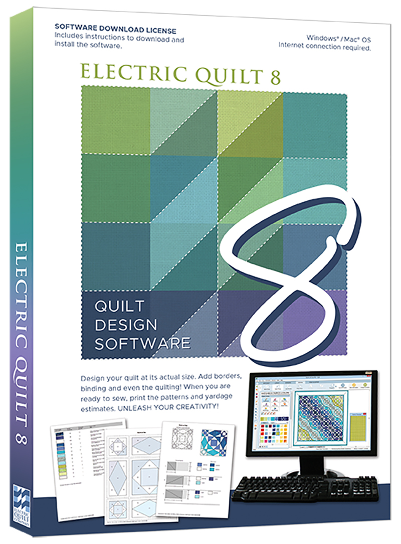 Electric Quilt 8 (EQ8) Quilt Design Software