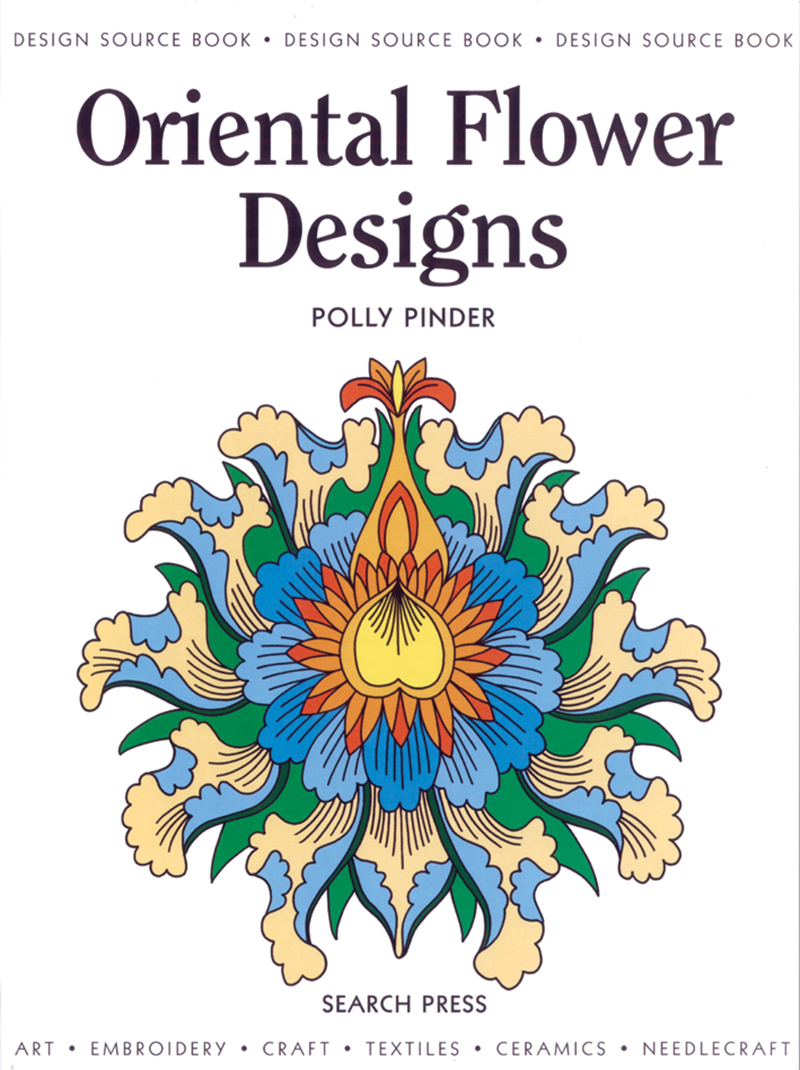 Design Source Book: Oriental Flower Designs