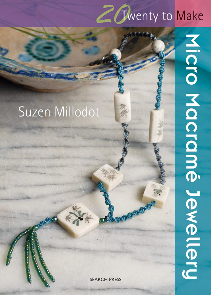 Twenty to Make: Micro Macramé Jewellery