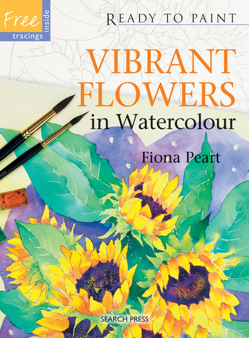 Ready to Paint: Vibrant Flowers in Watercolour