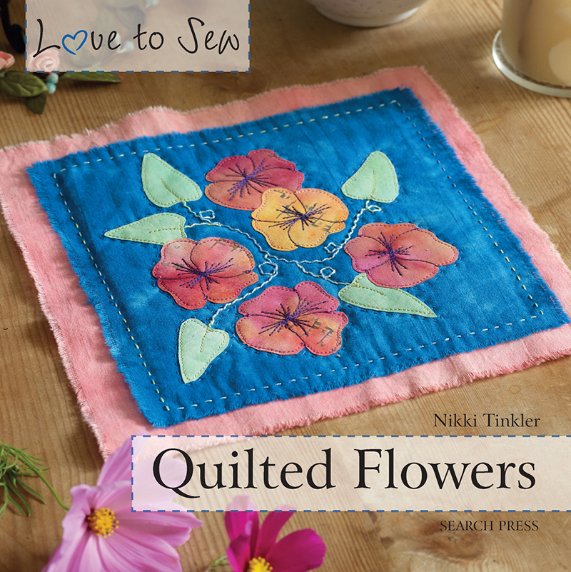Love to Sew: Quilted Flowers