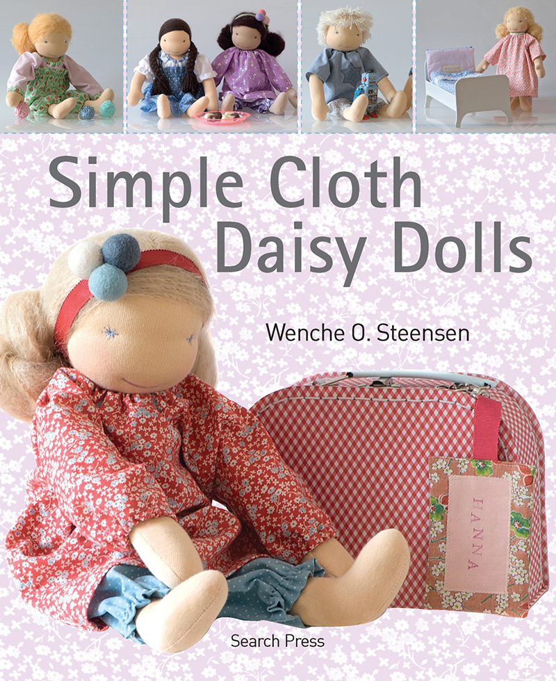 Simple Cloth Daisy Dolls