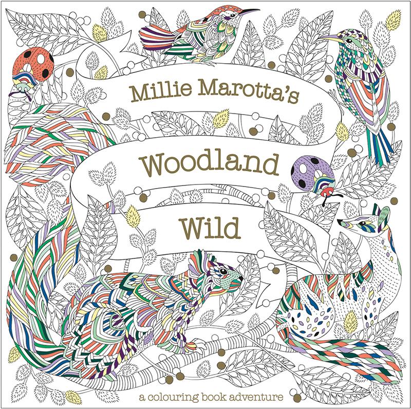 Millie Marotta's Woodland Wild