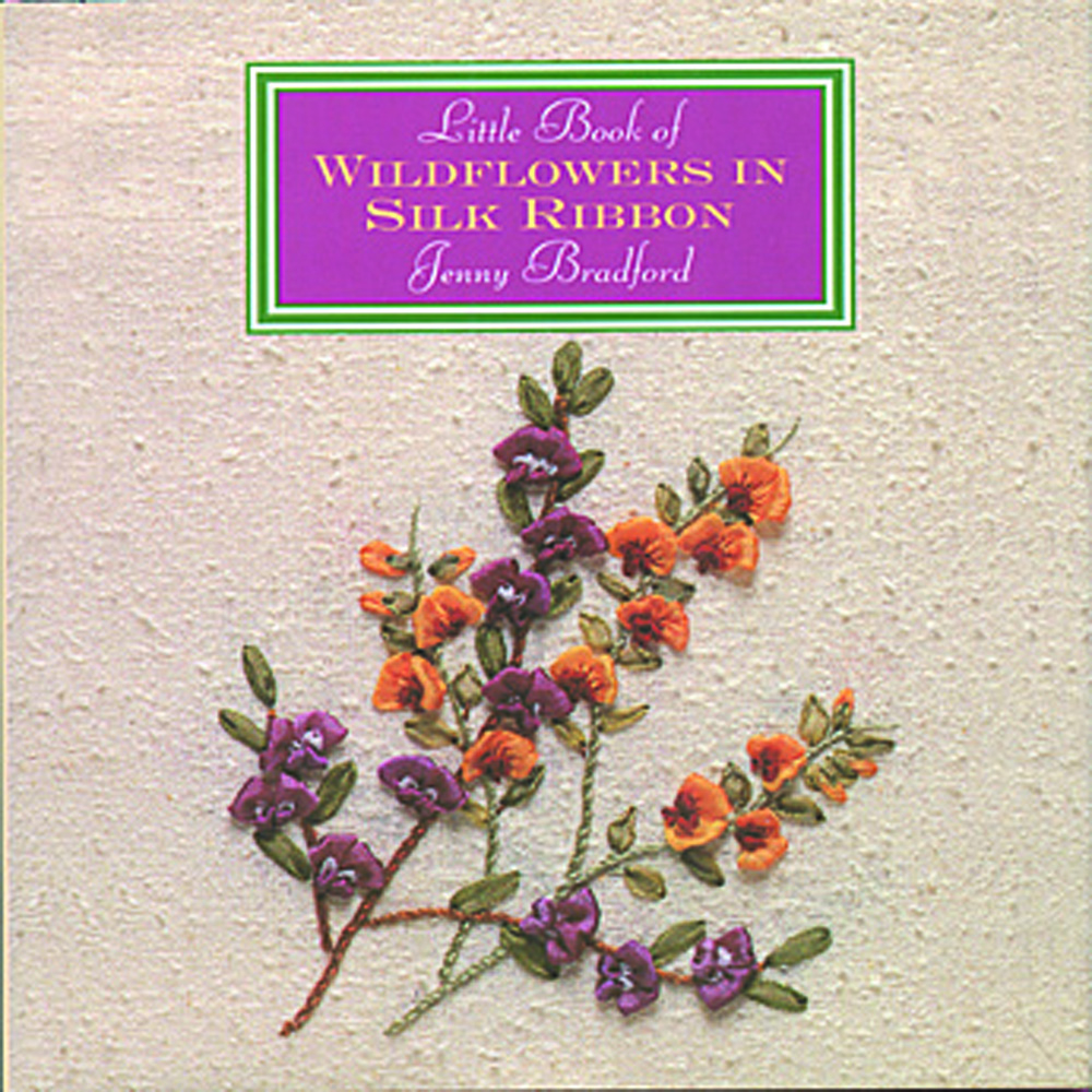 Little Book of Wildflowers in Silk Ribbon