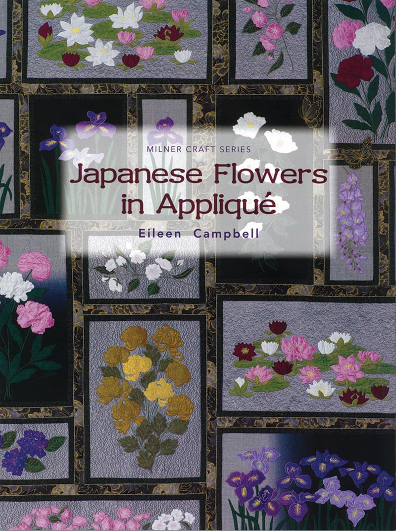 Japanese Flowers in Appliqué