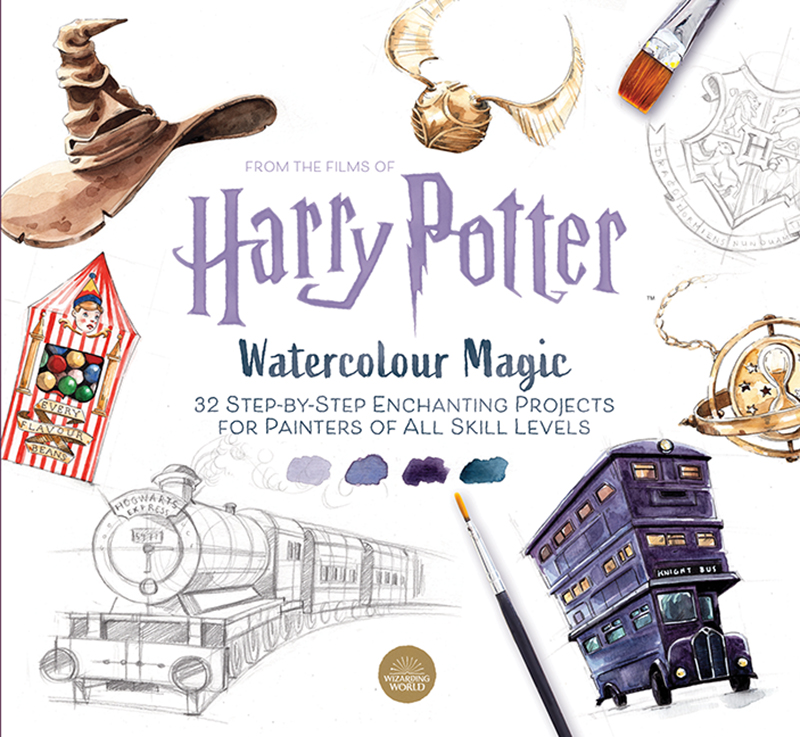 Harry Potter Watercolour Magic